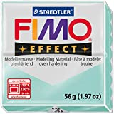FIMO 1x Pâte à modeler à cuire EFFECT Menthe Pastel 56 g