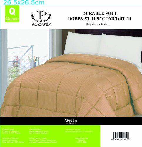 Dobby Striped Solid Colored Comforter
