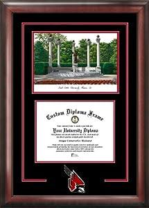 Ball State University Cardinals Spirit Graduate Frame with Campus Image
