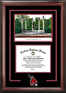 Ball State University Cardinals Spirit Graduate Frame with Campus Image