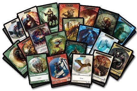 MTG Magic: The Gathering Token Lot of 50 - 1
