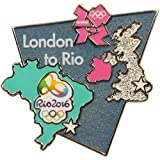 2012 Olympics London to Rio Bridge Lapel Bridge Pin Olympic Games 2016
