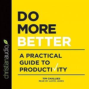 Do More Better Audiobook
