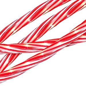 Amazon 18 Red and White Candy Cane Indoor Outdoor