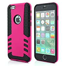 buy Yyue Ultra Protective Shell/Case For Apple Iphone 6(4.7 Inches And 5.5 Inch), Super Pc And Silica Gel 2 In 1 Carrying Case For Apple Iphone 6. High Quality Quakeproof And Drop Resistance Protection Case For Apple Iphone 6 (Apple Iphone 6 (4.7 Inch), Rose)