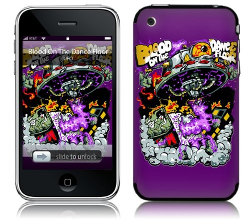 Music Skins MS-BODF20001 iPhone 2G-3G-3GS- Blood On The Dance Floor- UFO Skin
