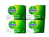 4x Dettol Original Hygienic Antibacterial Anti-bacterial Soap Bar Made in Thailand