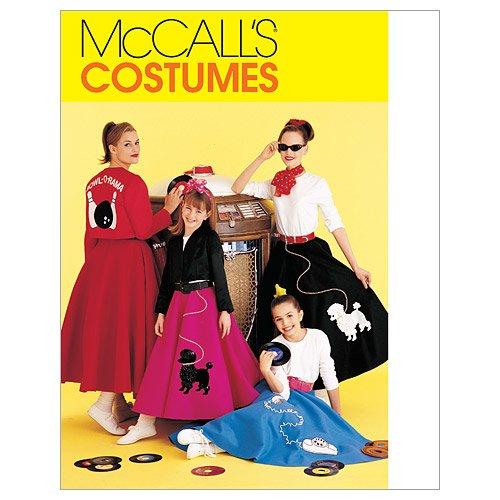 Mc Call's Schnittmuster 6234 S Kurzgrößen Kostüm,Sixties Gr. 8-10 (34-36)