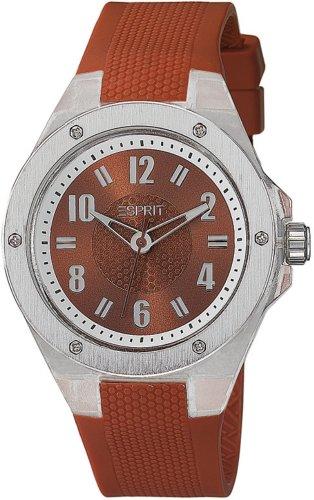 Esprit ES900662005 - Reloj de pulsera unisex, caucho, color rojo