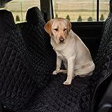 tierlando® Autoschondecke, Autoschutzdecke, Hundedecke, Autodecke 200 x 140 cm, Schwarz - SM-200-03