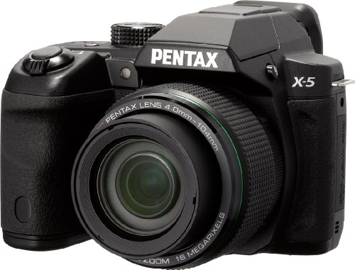 Pentax X-5 Digital Camera with 26x Optical Zoom and 3