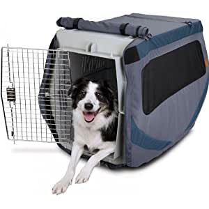 Classic Accessories 70-019-032201-00 Dog About Dog Crate Cover, Medium