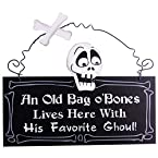 Bag Of Bones Wall Plaque
