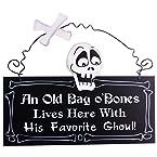 Bag Of Bones Wall Plaque