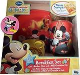 Mickey Mouse Club House Easter Egg Gift - 3D Effect Breakfast Set & Fridge Magnet