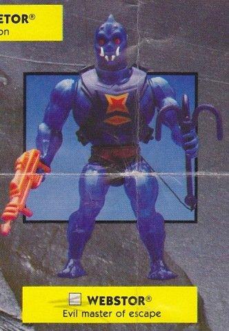 Buy Low Price Mattel Vintage 1980s Master's of the Universe Webstor Action Figure MOTU 100% Complete (B0046MCAR4)