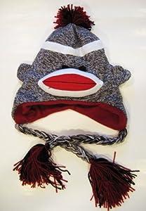 MIAMI HEAT SOCK MONKEY BEANIE HAT by Plushland