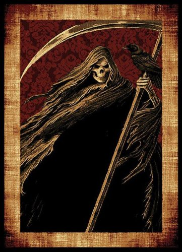 United Weavers Legends Area Rug 910-06530 Reaper Black Reaper Crow 5' 3
