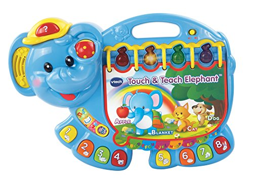 VTech Touch and Teach Elephant Book