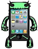 Robotector - Case for iPhone 4 (Black + Bones)