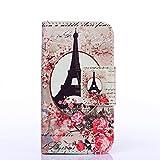 Eiffelturm und Blume Design schutzhülle Hülle für