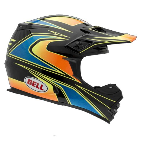 Bell MX-2 Element Red Motocross Helmet