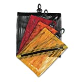 Vaultz Mesh Storage Bags, Assorted Colors and Sizes, 4 Bags (VZ01211) thumbnail