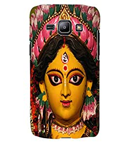 ColourCraft Lord Durga Back Case Cover for SAMSUNG GALAXY J1