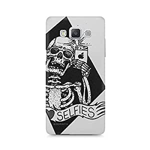 Mobicture Skull Abstract Premium Printed Case For Samsung A7