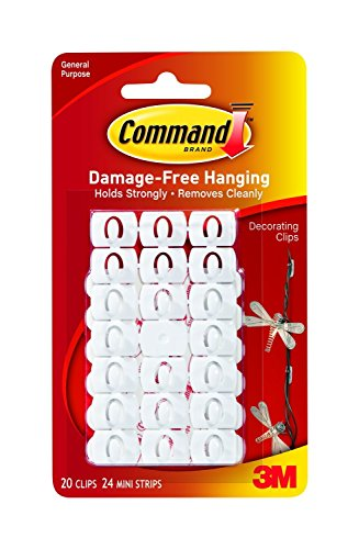 Command Decorating Clips, 60-Clip front-501668
