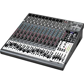 Behringer 2442FX 24-Input 4/2 Bus Mixer with Effects and USB