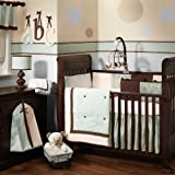 Lambs & Ivy Park Avenue Baby 4 PC Bedding Set