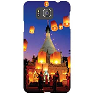 Samsung Galaxy Alpha G850 Back Cover - Small Prints Designer Cases