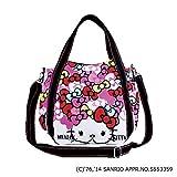 【 DEARISIMO ディアリッシモ 】 HELLO KITTY × DEARISIMO キティ トート ショルダー バッグ (4506)