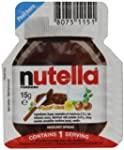 Nutella Single Portions 15 g (Pack of...