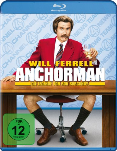 Anchorman - Die Legende von Ron Burgundy [Blu-ray]