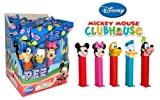 Pez Poly Pack Mickey Mouse Club House - Assorted (Pack of 12