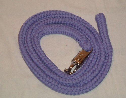 Anbindestrick, Führstrick aus Baumwolle lila