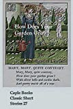 How Does Your Garden Grow? (Illustrated) (Caple Books Classic Short Stories Book 27)