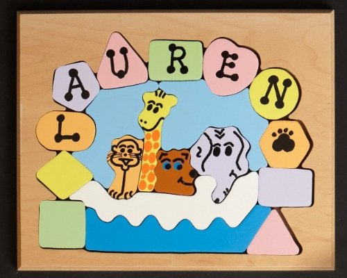 Cheap You Name It Toys Personalized Noah's Ark Puzzle – Pastel Colors (B004OOTRSO)