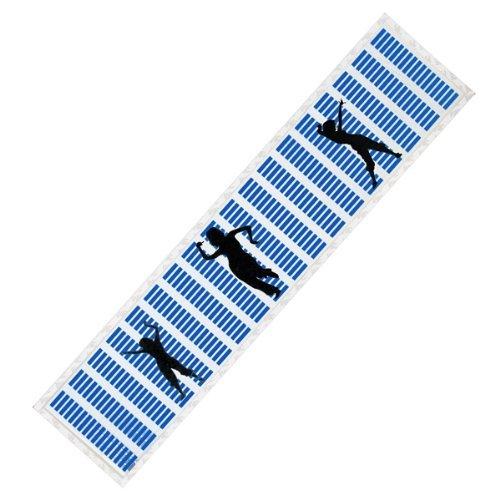 Sanheshun 80X19Cm Car Sticker Music Rhythm Blue Led W/ Black People Light Sound Equalizer