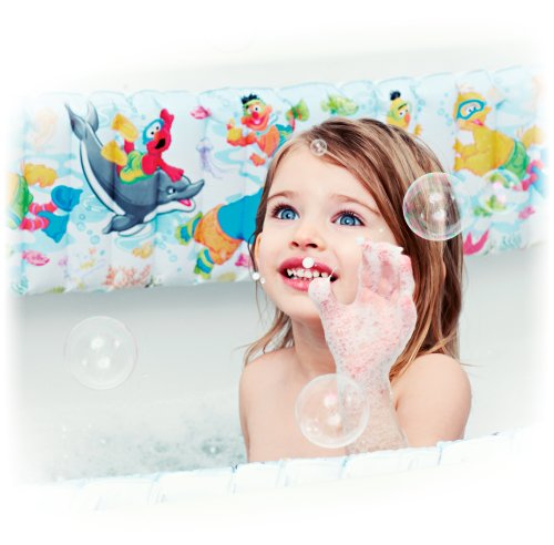 Sesame Street Bath Tub Bumper - White Image