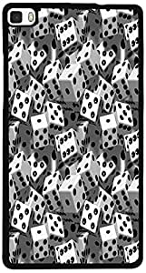 PrintVisa D7994 Pattern Dice Domino Back Cover for Huawei P8 (2D-HP8-D7994)