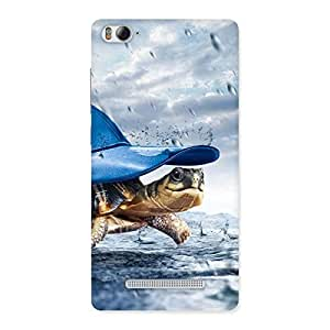 Enticing Wow Turtle Multicolor Back Case Cover for Xiaomi Mi4i