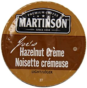 Martinson Joe's Coffee, Hazelnut Creme, 24 Count