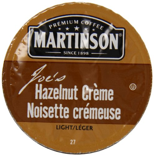 Martinson Joe'S Coffee, Hazelnut Creme, 24 Count
