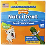 Nutri Dent complete Dental Chew for Dogs up to 15 pounds, Chicken Flavor, 1.5 Pound, 50 Ct. Pantry Pack