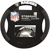 Bsi Products NFL Oakland Raiders Steering Wheel Cover