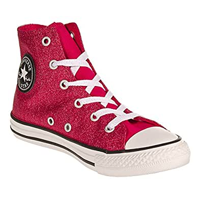 Amazon.com: Converse Kids Girls Hi Top Glitter Boots - 12