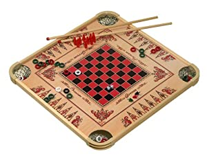 Amazon Com Carrom Game Board Large Checkers Games